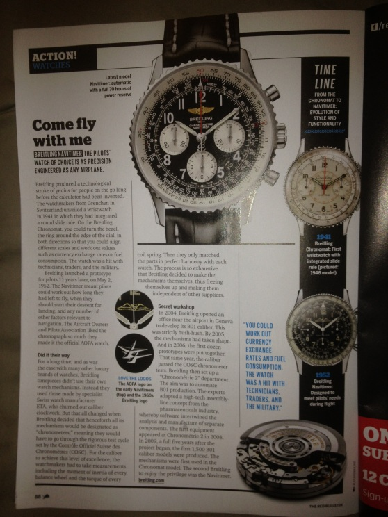 Pilots' Choice of Watches