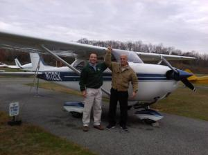 MARCOS FRANCA passed his checkride to become a Private Pilot!